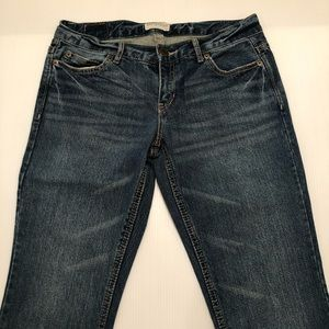 Junior's Earopostale Flare Denim Jeans Size 3/4